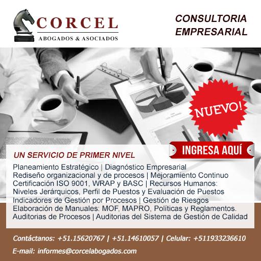 Conoce el nuevo servicio de Consultoría Empresarial - CorcelAbogados.com